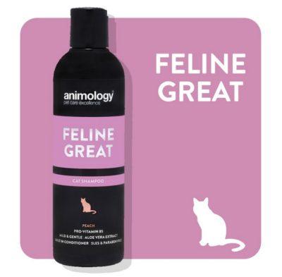 Animology σαμπουαν γατας Feline Great