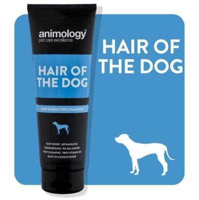 ΤοAnimology Hair of the Dog σαμπουαν σκυλου ξεμπερδεμα κομπων