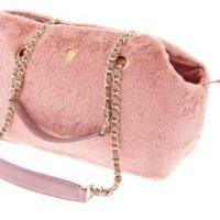 Οι Ferribiella Luxury Tweed Rose για γατες τσαντες μεταφορας για σκυλους