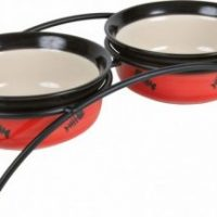 Trixie Bowl set πιατα σε βαση για γατες